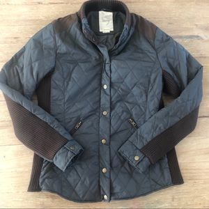 Anthropologie Numph quilted bomber jacket